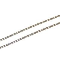 Corrente em Ouro Branco 18k Piastrine 1,90mm